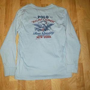 Ralph Lauren Polo Boys LG long sleeve  shirt